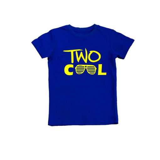2nd Year Birthday Celebration T-Shirt Blue