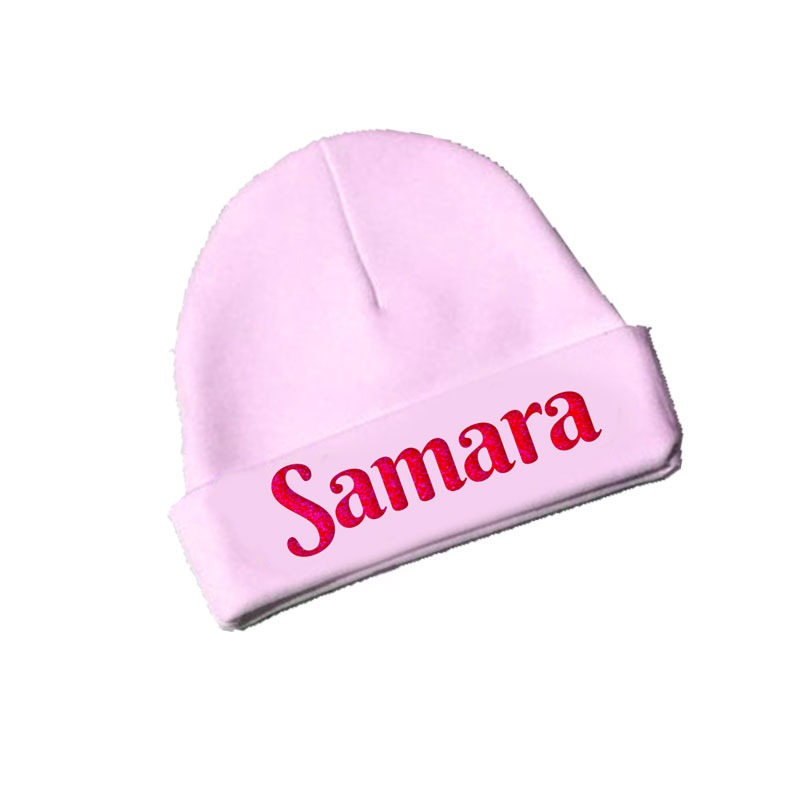 New Born baby Beanie with Name – Smarty Nerdy ee095841198