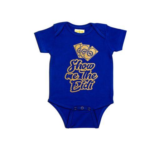 Show Me The Eidi Baby Romper Blue