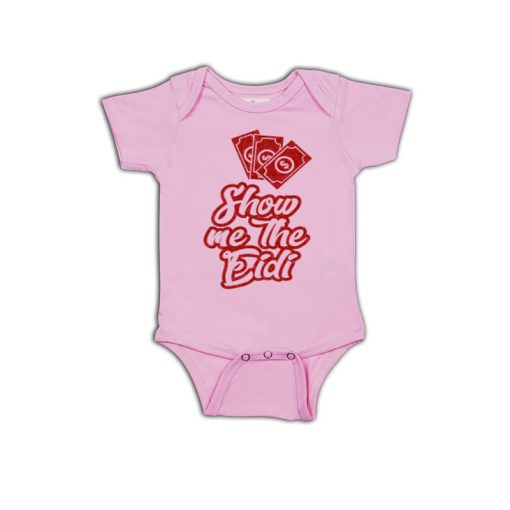 Show Me The Eidi Baby Romper Pink