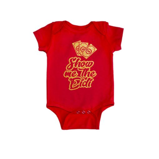Show Me The Eidi Baby Romper Red