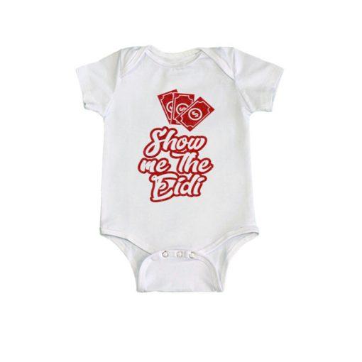 Show Me The Eidi Baby Romper White