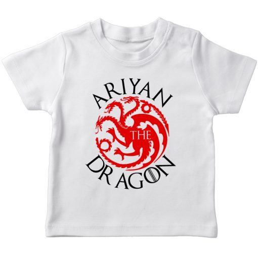 GOT Arian Dragon White t-shirt