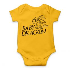 Game Of Thrones Baby Dragon Romper for Babies