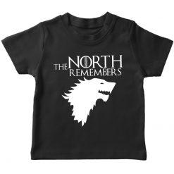 GOT the north remembers black t-shirt