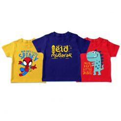 Eid mubarak ready t-shirt set