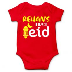 First Eid White Romper