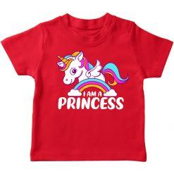 unicorn red t-shirt