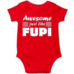 Awesome Fupi Baby Romper Red