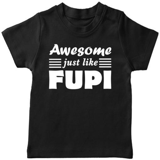 Awesome Fupi T-Shirt Black