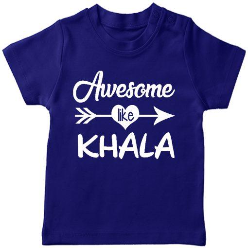 Awesome Khala T-Shirt Blue