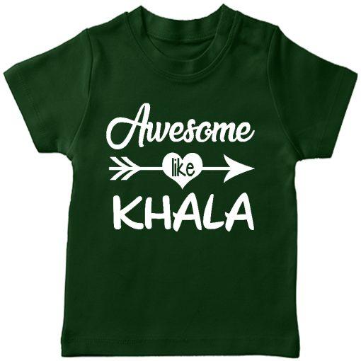 Awesome Khala T-Shirt Green