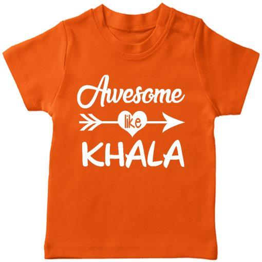 Awesome Khala T-Shirt Orange
