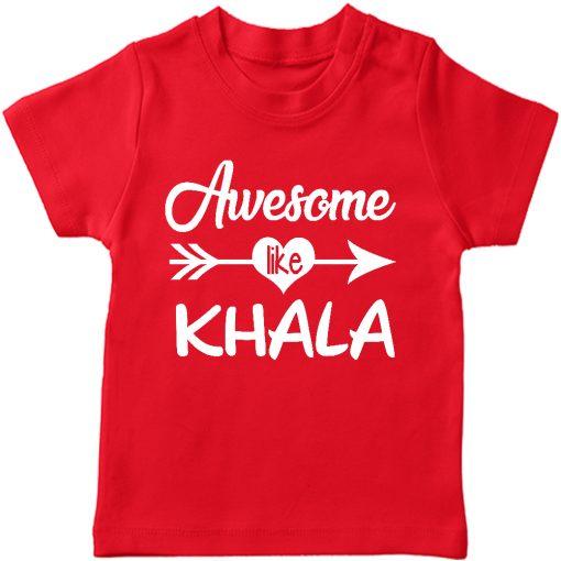 Awesome Khala T-Shirt Red