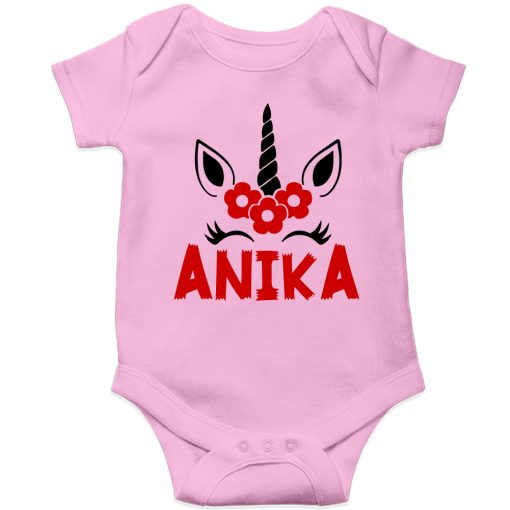 Beautiful-Designed-Unicorn-Baby-Romper-Pink
