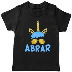 Beautiful-Designed-Unicorn-T-Shirt-Black