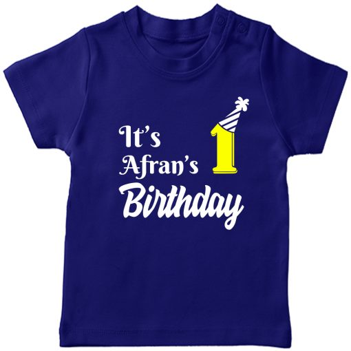 Best-Birthday-Customized-T-shirt-for-Boys-&-Girls-Blue