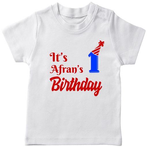 Best-Birthday-Customized-T-shirt-for-Boys-&-Girls-White