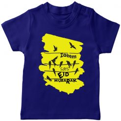 Birds-Unique-Wishing-Eid-Tee-Blue
