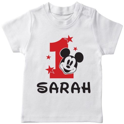 Birth-Month-Mickey-T-Shirt-White
