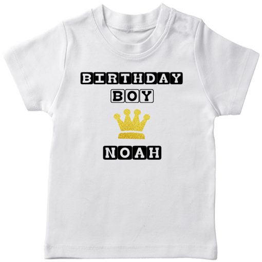 Birthday-Boy-with-Baby-Name-T-Shirt-White