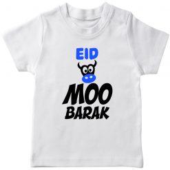 Boys tshirt eid humba moo barak white
