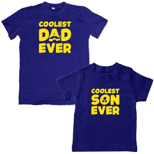 Coolest-Ever-Family-Matching-Combo-T-Shirt-Blue