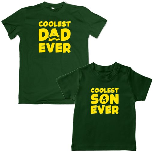 Coolest-Ever-Family-Matching-Combo-T-Shirt-Green