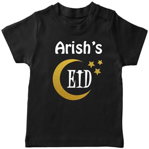 Customized-Eid-Name-Tee-Black