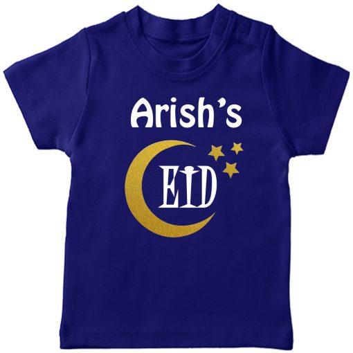 Customized-Eid-Name-Tee-Blue