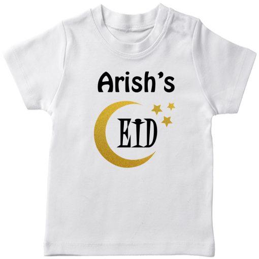 Customized-Eid-Name-Tee-White