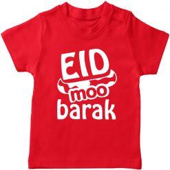Eid Moobarak T-Shirt Red