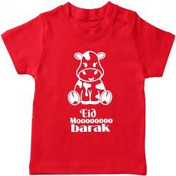 Eid Moooobarak T-Shirt Red
