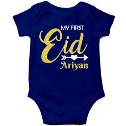 First-Eid-Designed-Romper-For-Baby-Blue