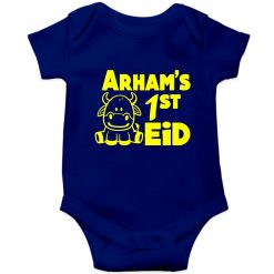 First-Eid-Unique-Baby-Customized-Romper-Blue