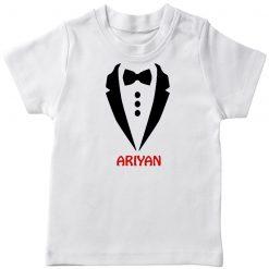 Gentleman-Customized-Name-T-Shirt-White