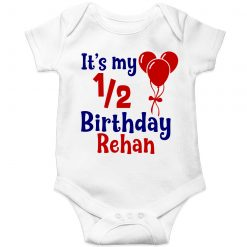 Its-My-Half-Birthday-Customized-Name-Baby-Romper-White