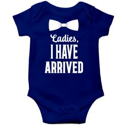 Ladies-I-have-arrived-Baby-Romper-Blue