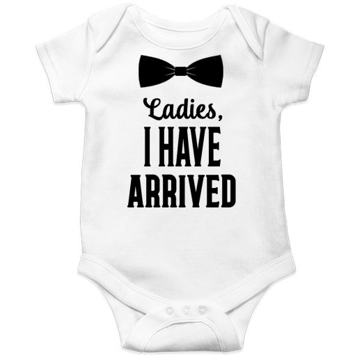 Ladies-I-have-arrived-Baby-Romper-White