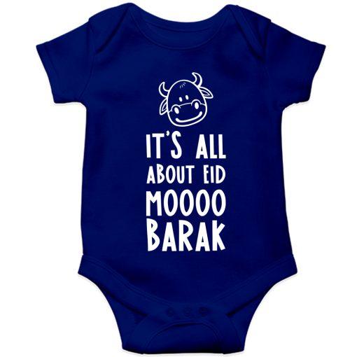Moo-Barak-Cow-Baby-Romper-Blue