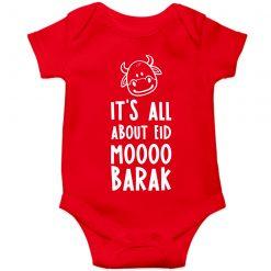 Moo-Barak-Cow-Baby-Romper-Red