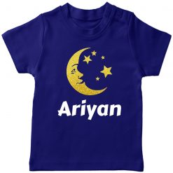 Moon-Name-Customized-Tee-Blue