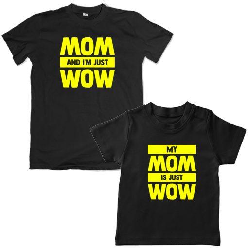 Mother-Kid-Combo-Matching-Tee-Black