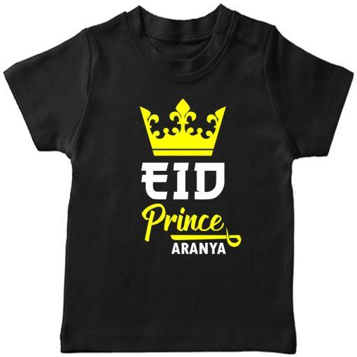 Prince-Crown-Eid-Tee-Black