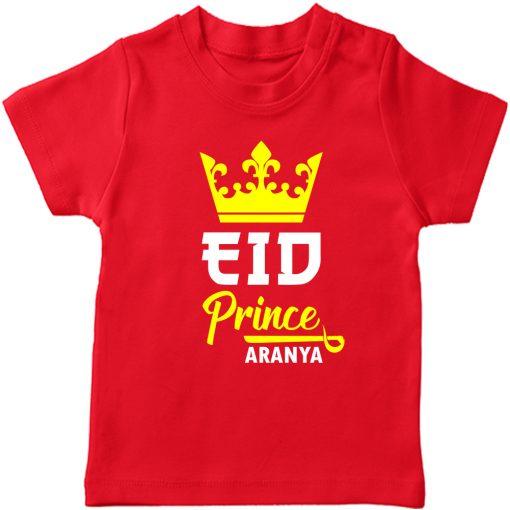 Prince-Crown-Eid-Tee-Red