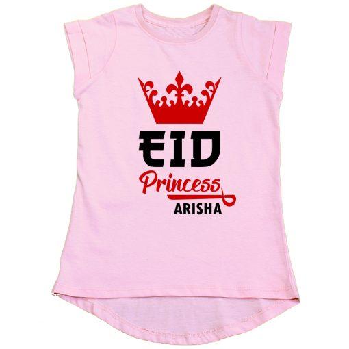 Princess-Eid-Girls-Tee-Pink