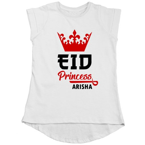 Princess-Eid-Girls-Tee-White