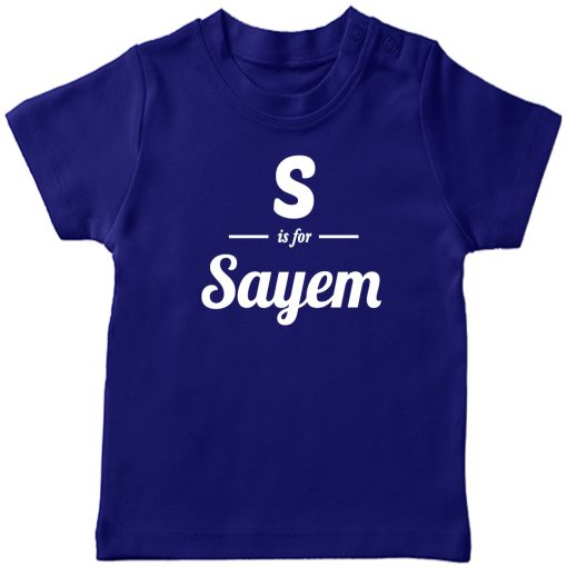 S-is-for-Customized-Name-T-Shirt-Blue