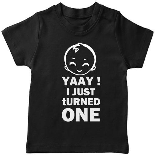 Yaay-I-just-turned-Age-Birthday-Celebration-T-Shirt-Black