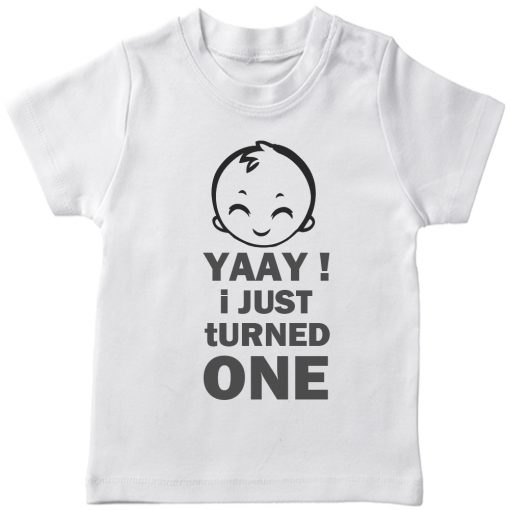 Yaay-I-just-turned-Age-Birthday-Celebration-T-Shirt-White